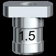 Führungshülse für Pilotbohrer 1,5 mm (20/Pkg)