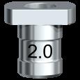 Führungshülse für Pilotbohrer 2,0 mm