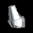Abgewinkelte Distanzhülse mit Schraube 17° 3 mm RP