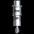 Guided Verankerungsabutment mit Schraube Brånemark System NP
