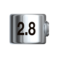 Bohrerstopp Ø 2,8 mm