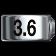 Bohrerstopp  Ø 3,6 mm