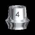 Snappy Abutment 4.0 Brånemark System WP 2 mm