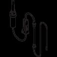 Kühlungsschlauchset 2,2 m, for OsseoSet™ 300 6/Pkg