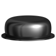 Locator® Process Replacement Male 2Lbs/910g (black) (20/pkg)