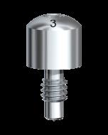 Healing Abutment Brånemark System RP Ø 4 x 3 mm