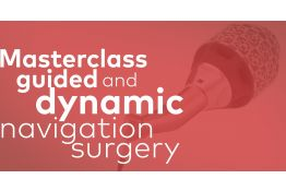 Masterclass guided and computer navigated surgery