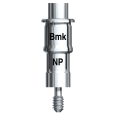 Guided Template Abutment with Screw Brånemark System NP