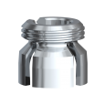 Gold Cap Ball Abutment Insert