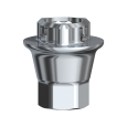 Adapter für Zirkondioxid-Abutment Conical Connection NP