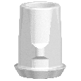 NobelPearl Ceramic Base nicht rotationsgesichert Inter-X RP
