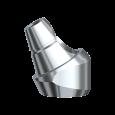 Abgewinkelte Distanzhülse mit Schraube 30° 4 mm RP