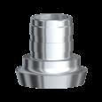 Direktaufbau nicht rotationsgesichert Gold/Kunststoff 5,0 HL/RPL