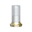Direktaufbau nicht rotationsgesichert Gold/Kunststoff 6.0 HL/RPL