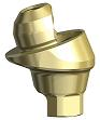Base On1 et pilier Multi-unit avec surface Xeal