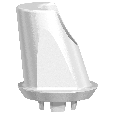 NobelPearl 15° Abutment Inter-X WP 1 mm