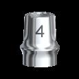 Snappy Abutment 4.0 Brånemark System RP 2 mm