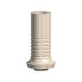 Temporary Abutment Plastic Non-engaging NobelReplace 6.0