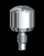 Gingivaformer Brånemark System RP Ø 5 x 3 mm