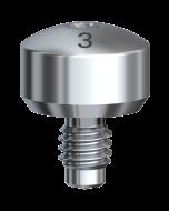 Gingivaformer Brånemark System WP Ø 6 x 3 mm