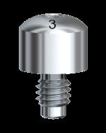 Gingivaformer Brånemark System WP Ø 5 x 3 mm