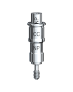 Guided Verankerungsabutment Conical Connection NP 3,5