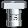 Führungshülse für Pilotbohrer 1,5 mm
