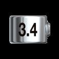 Bohrerstopp  Ø 3,4 mm
