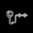 CLX Trackerarmeinheit – posteriore Fixierung am Oberkiefer – Rechtshänder