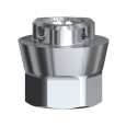 Adapter für Zirkondioxid-Abutment Conical Connection WP