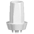 NobelPearl Abutment Straight Inter-X WP 2 mm