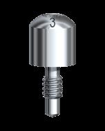 Healing Abutment Brånemark System NP Ø 3.5 x 3 mm