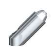 45° Multi-unit Abutment External Hex RP 10 mm