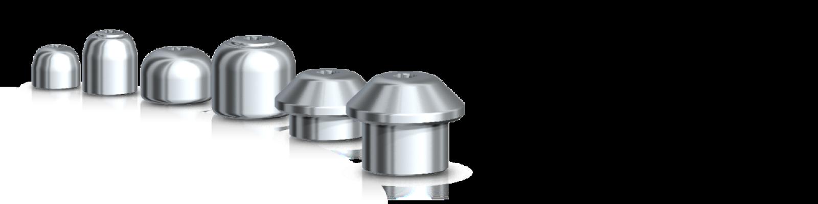 Tapa de cicatrización Multi-Unit de titanio