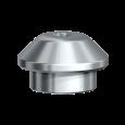 Healing Cap Wide Multi-unit Titanium Ø 5.0 x 4.1 mm 2/pkg