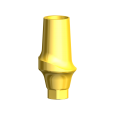 Try-in Esthetic Abutment CC RP 1.5 mm