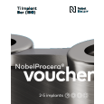 NobelProcera® Voucher Ti Implant Bar (IBO) 2-5 implants