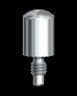 Healing Abutment Brånemark System RP Ø 4 x 5 mm