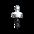 Ball Abutment Titanium Brånemark System RP 1 mm