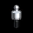 Ball Abutment Titanium Brånemark System RP 3 mm