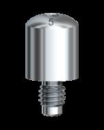 ヒーリングアバットメント Bmk ストレート WP φ5x5mm