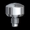 ヒーリングアバットメント Bmk ワイド WPφ6x3mm