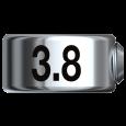 ドリルストップ φ3.8mm