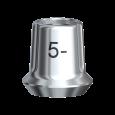 スナッピー・アバットメント 5.5 Bmk WP 1mm