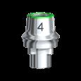 スナッピー・アバットメント 4.0 Rpl 6.0 1.5mm