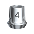 スナッピー・アバットメント 4.0 Bmk NP 1mm