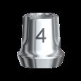 スナッピー・アバットメント 4.0 Bmk RP 1mm