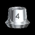 スナッピー・アバットメント 4.0 Bmk WP 1mm