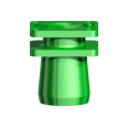 Snappy Abutment 5.5 Impression Coping NobelReplace 6.0/Bmk WP/CC WP