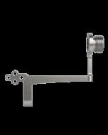 CLX Tracker Arm Assembly - anterior fixation in maxilla - right handed user